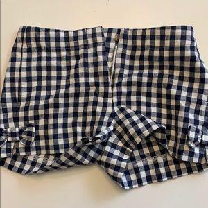 J. CREW CREWCUTS girls shorts size 8 EUC
